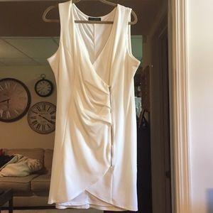 Off white zipper detail dress 3x Never worn